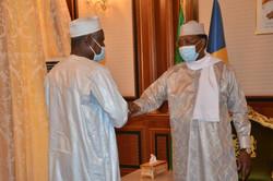 Tchad : Le président de la Commission de l'UA et la SG de l'OIF reçus à la Présidence