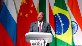 Afrique du sud / Sommet des BRICS : Ramaphosa appelle à l'unité et a la coopération