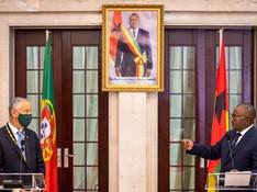 Guinée Bissau / Portugal : Marcelo Rebelo De Sousa en visite chez Umaro Sissoco