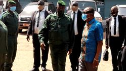 Guinée : visite du président Alpha Condé dans les hôpitaux militaires de Camayenne et Samory Touré