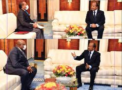 Crise sécuritaire en zone CEMAC : des émissaires équato-guinéens et tchadiens reçus à Yaoundé