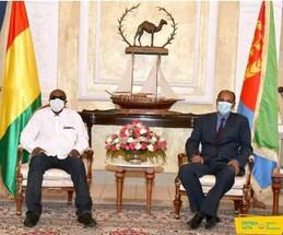 Guinée - Érythrée/ Coopération : Alpha Condé renforce les liens d'amitié avec Asmara