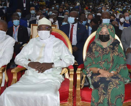 Chad's Idriss Deby graces inauguration of president Denis Sassou Nguesso