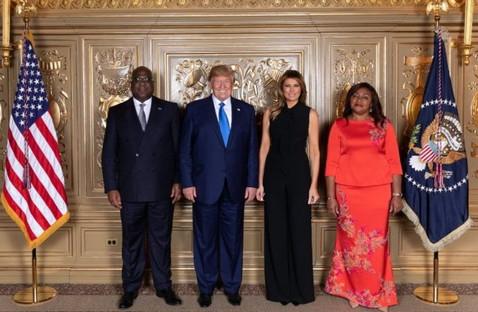 RDC / USA : FELIX TSHISEKEDI S'EST ENTRETENU AVEC DONALD TRUMP