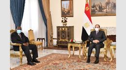 Egypte / Ghana : Al-Sissi reçoit l'envoyé spécial de Akufo Addo