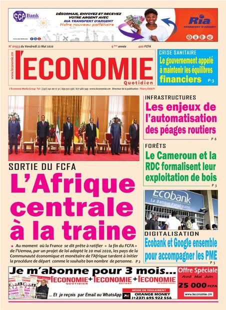 REVUE DE PRESSE AFRICAINE ET INTER EDITION DU VENDREDI 22 05 2020.