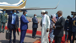 FIELD MARSHALL OF CHAD ATTENDS INAUGURATION OF DENIS SASSOU NGUESSO