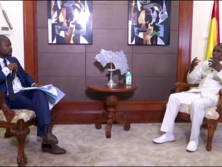 Interview Alpha Condé après sa victoire : « je tends la main à tous ces guinéens, qu'ils soient