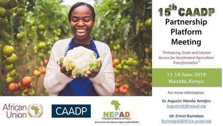 NAIROBI / AFRICAN UNION: 15TH MEETING OF THE ACAP PARTNERSHIP PLATFORM