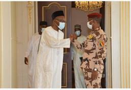 Tchad / Cohésion nationale : le président du CMT reçoit Saleh Kebzabo