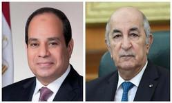Egypte / Algérie : Al-Sissi et Tebboune parlent de renforcement de leur coopération bilatérale