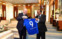 FIFA pays tribute to Paul Biya for outstanding infrastructure