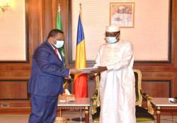Tchad : le président Déby reçoit le chef de la diplomatie congolaise