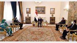 Egypte / U.A : Al-Sissi et Moussa Faki échangent sur les problèmes africains