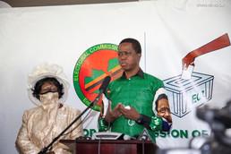 Zambie / Elections Générales : le président nomme Nkandu Luo comme Vice-président du scrutin du 12