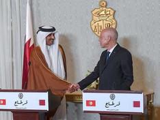 Tunisie / Qatar : le président Kais Saied en visite officielle chez le Cheikh Tamim Bin Hamad