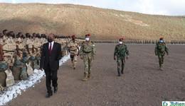 Djibouti : le ministre de la défense inspecte le bataillon Hill 8 avant son départ pour la Somalie