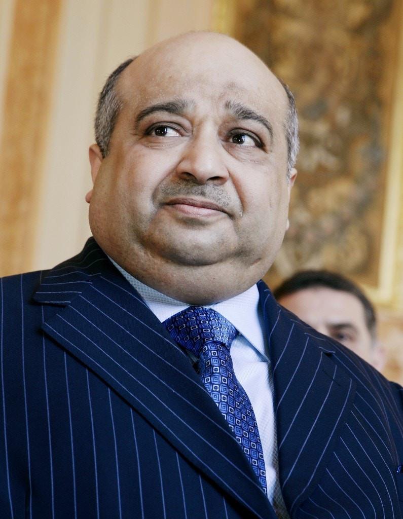 Mohamed Bin Issa Al Jaber in France in June 2008