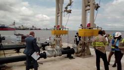 Cameroun/PAD : le premier ministre inaugure un poste pétrolier
