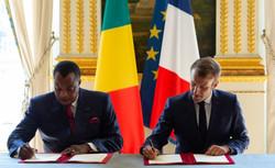 France / Congo : Macron et Sassou signent une lettre d'intention dans le cadre de l'Initiati