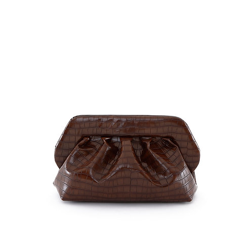 BIOS VEGAN CROCO CHESTNUT