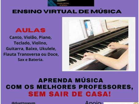 COOPEN realiza parceria com a DUETTOS EVM - Ensino Virtual de Música