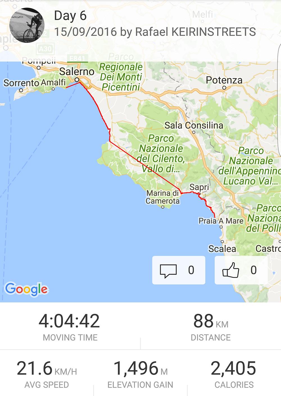 keirinstreets / girodimafia / day6 / road to Salerno