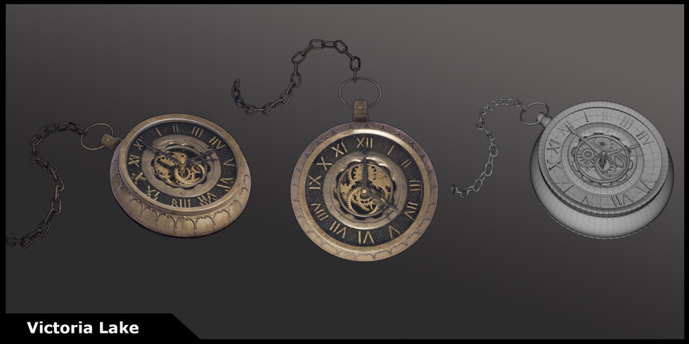 Pocket Watch- Unreal Library Environment Hero Asset
