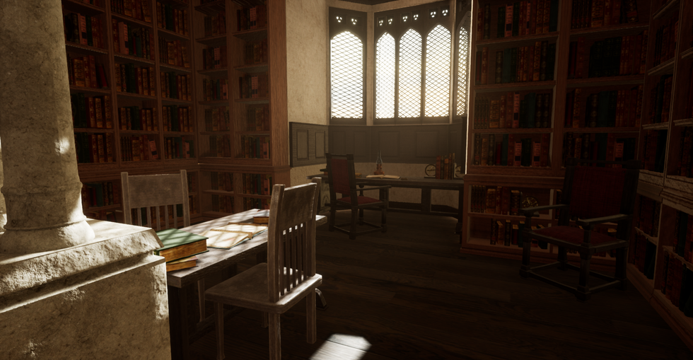 Library Unreal Environment