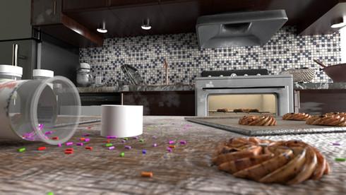 Baking Scene