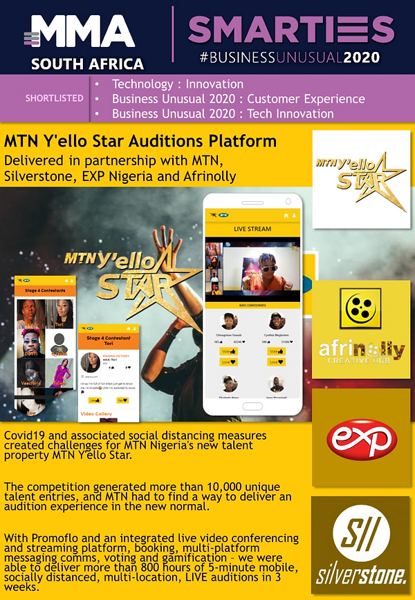 Exp Agency Win's 3 Gold SMARTIES for Mtn