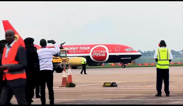 Coca-Cola Uganda's 2018 FIFA World cup Trophy Tour