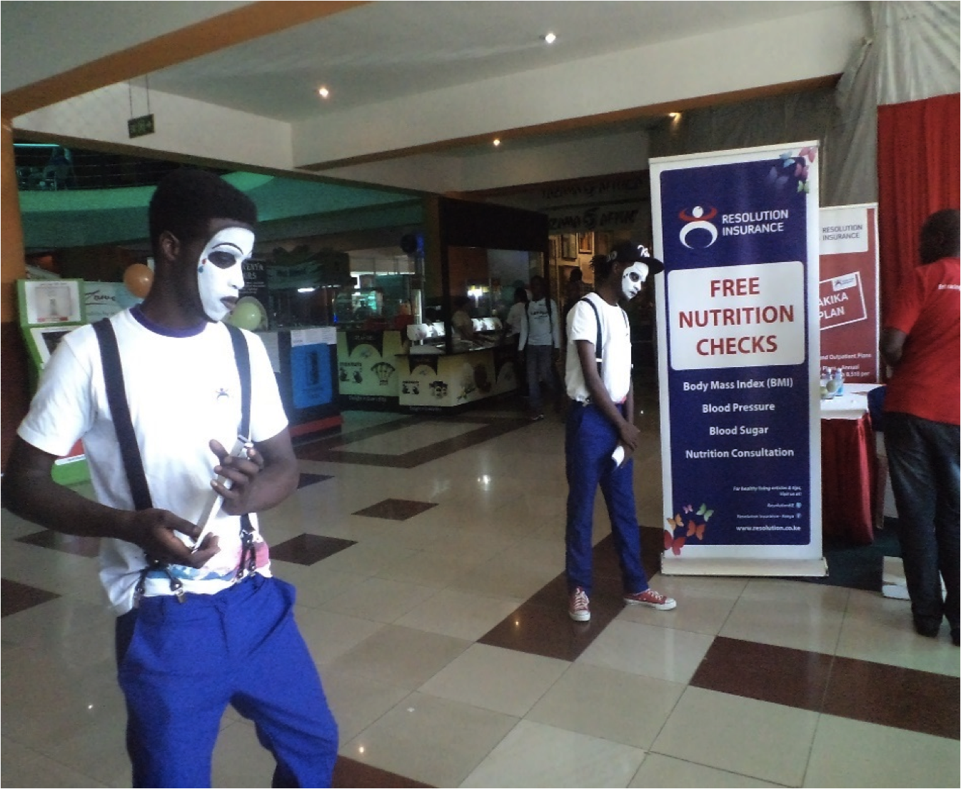 Exp Kenya Mall Activation