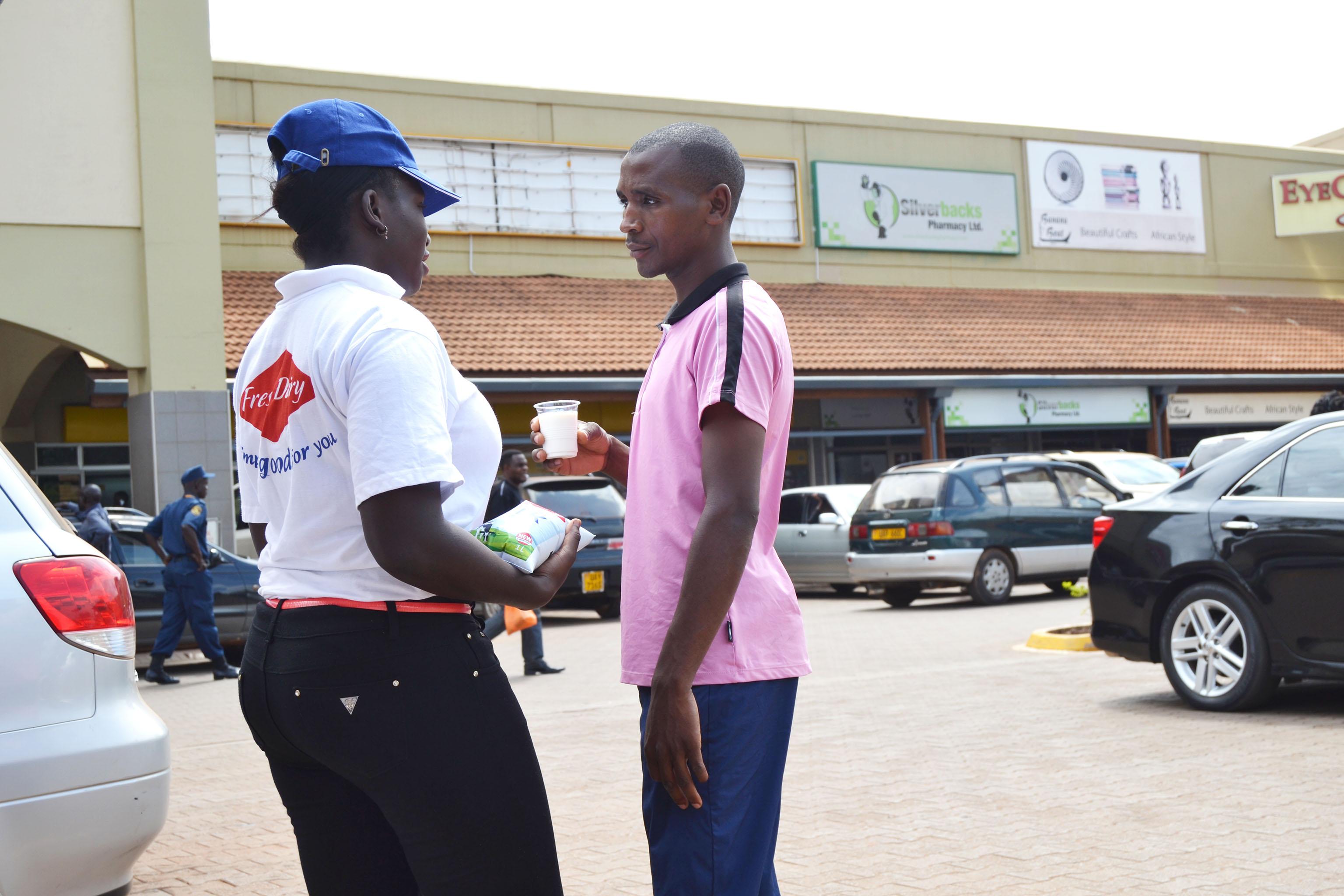 Exp Uganda Street Marketing
