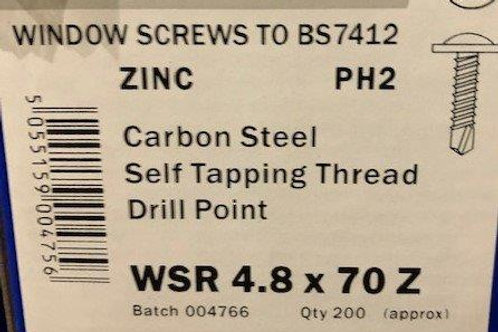 Bay Pole Screws 70mm