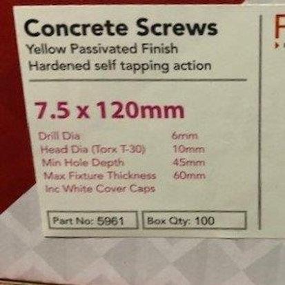 120mm Direct Fixings, Qty100