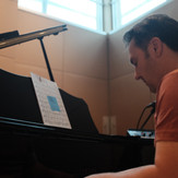 """Jason Webb tracking piano parts for Mike's EP """"Psychedelia."""""""