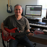 Mike, in his home recording studio.