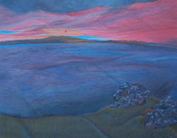 Light In Sight, e.t. on panel, 11 x 14, 2003
