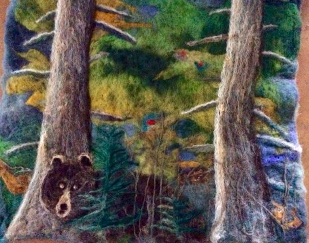 Bear in Pines