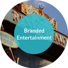 Somewhere in between overt advertising and pure entertainment with a logo ending is the ability to narrate your brand within an engaging story. That's branded entertainment.