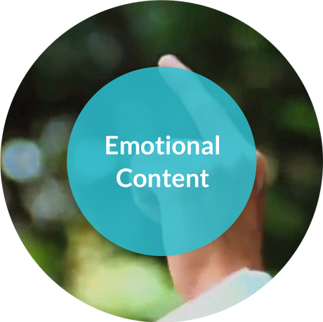 Did you know that according to Nielsen's, emotional content generates greater sales? You don't need to use puppy dogs and little children, but look to achieve an emotional response.