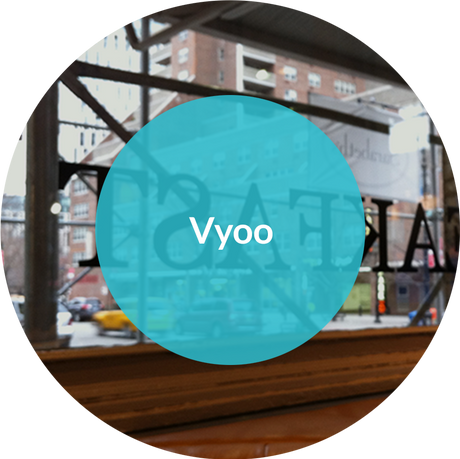 "Vyoo (pronounced ""view""). Welcome to Vyoo Brand + Content. Whether it's an early stage business or a mature enterprise, we help brands tell their stories."