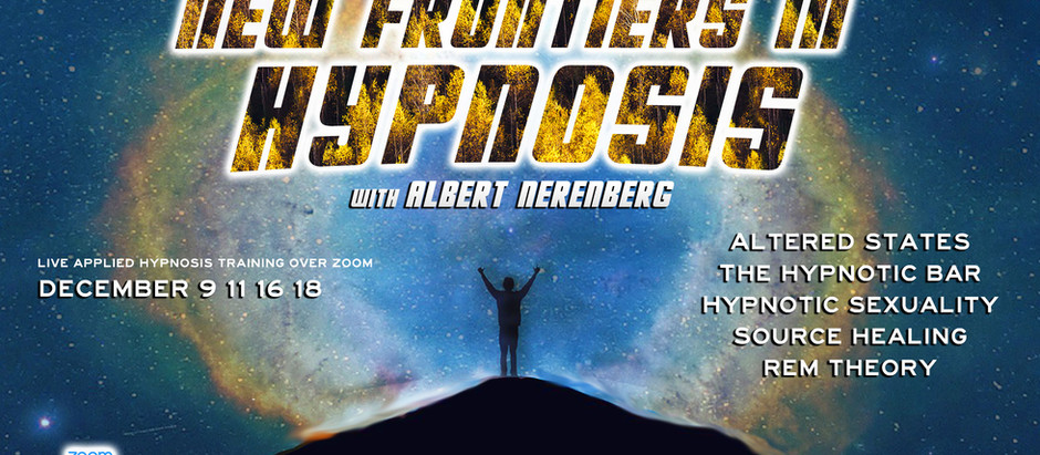 New Course: New Frontiers in Hypnosis
