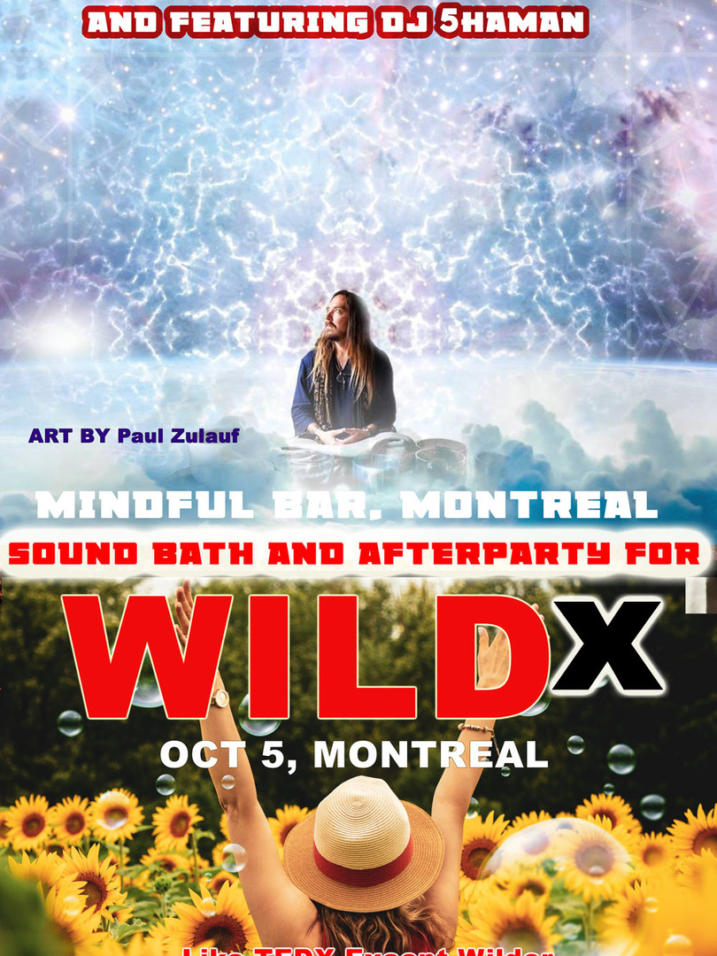 WildX Sound Bath And After Party