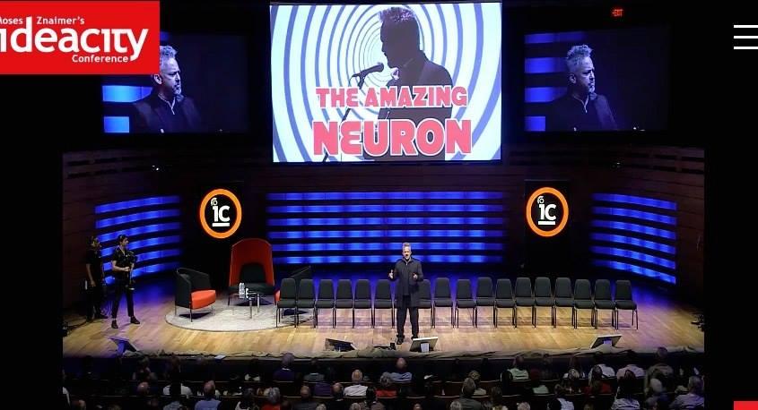 Hypnotist Albert Nerenberg, IdeaCity