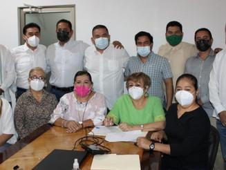 Diputada Aguirre exhorta denunciar a Locho y Tumor vota en contra