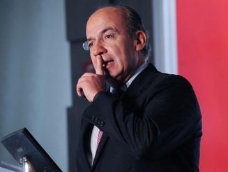 El reproche de Calderón al PRI, PAN, PRD y MC
