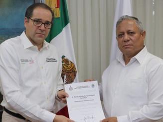 Alberto Sanmiguel deja la Secretaría de Seguridad