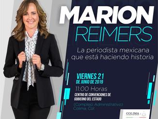 Marion Reimers dará conferencia